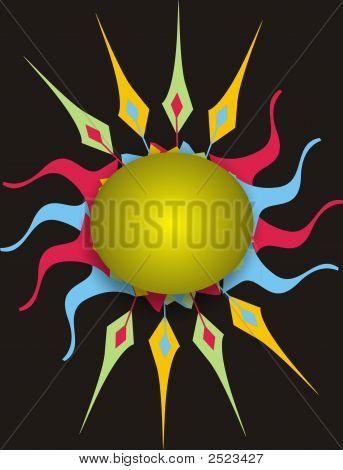 Abstract Sun - Logo
