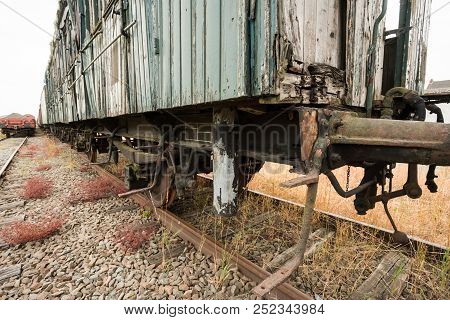 if a train is discarded, hin ends up in a train graveyard poster