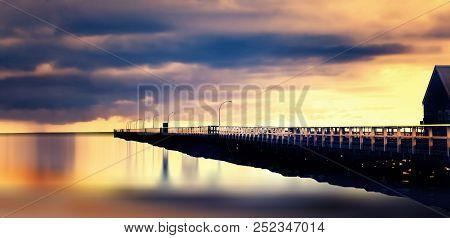 Busselton, Western Australia - It Is The Longest Wooden Pile Jetty In The Southern Hemisphere.