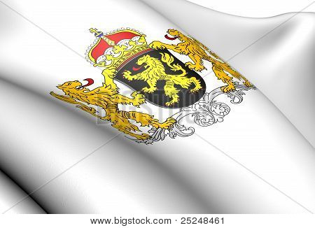 North Brabant Coat Of Arms, Netherlands.