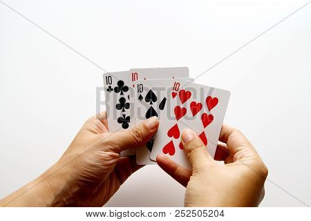 Playing Card / A Card Game Is Any Game Using Playing Cards As The Primary Device With Which The Game