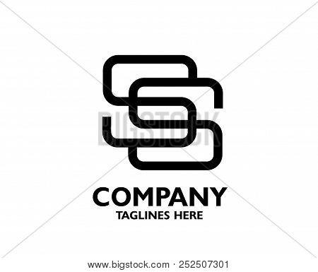 Letter Ss Logo Icon Design Template Elements. Logo Initial Letter Ss. Business Corporate Letter Ss L