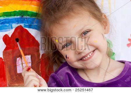 happy artist