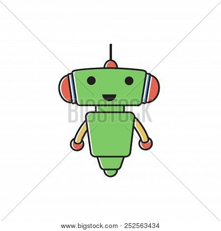 Cute Robot Icon