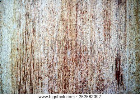 Wood Texture Wrinkle Surface Damage By Sunlight Rain