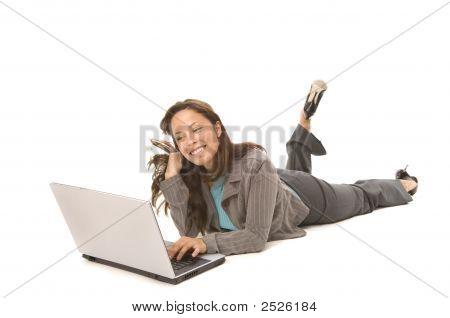 Happy With Laptop