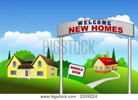 New Homes Illustration
