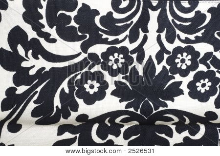 Black And White Flower Pattern