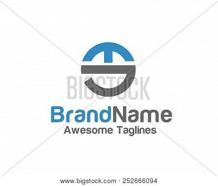 Creative Letter Es Logo With Circle Design Elements. Simple Letter Es Letter Logo,business Corporate