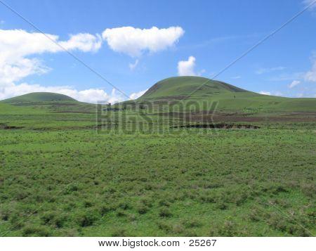 Runde Spitze Hügel 2