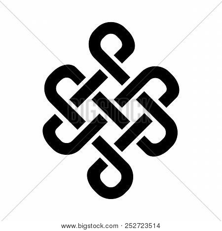 Guts Of Buddha, Or The Bowels Of Buddha (the Endless Knot, Or Eternal Knot, Happiness Node) - Symbol