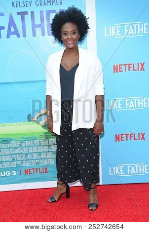 LOS ANGELES - JUL 31:  Blaire Brooks arrives to the 'Like Father' Los Angeles Premiere  on July 31, 2018 in Hollywood, CA