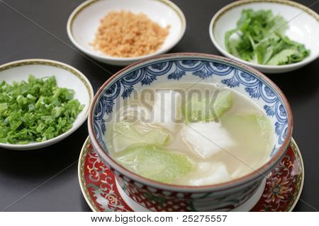 Chinese Cod & Gourd Soup