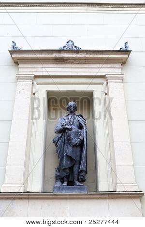 Statue Of Raphael Morghen In Saint Petersburg