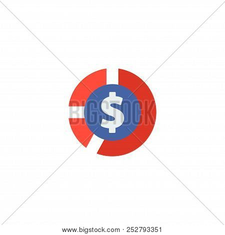 Cash Icon Flat Element. Vector Illustration Of Cash Icon Flat Isolated On Clean Background For Your