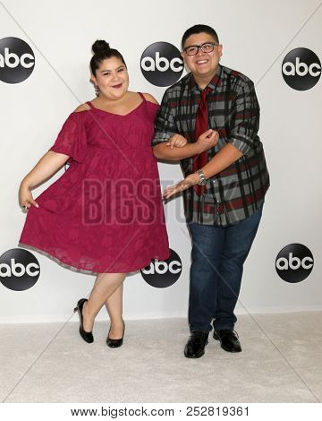 LOS ANGELES - AUG 7:  Raini Rodriguez, Rico Rodriguez at the ABC TCA Party- Summer 2018 at the Beverly Hilton Hotel on August 7, 2018 in Beverly Hills, CA