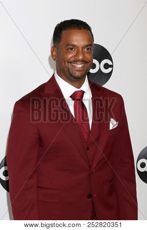 LOS ANGELES - AUG 7:  Alfonso Ribeiro at the ABC TCA Party- Summer 2018 at the Beverly Hilton Hotel on August 7, 2018 in Beverly Hills, CA
