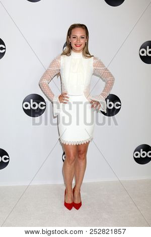 LOS ANGELES - AUG 7:  Danielle Savre at the ABC TCA Party- Summer 2018 at the Beverly Hilton Hotel on August 7, 2018 in Beverly Hills, CA