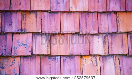 Roof Tiles Made From A Ceramic Material