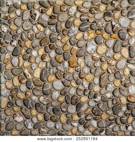 Texture Of Old Rock Wall For Background