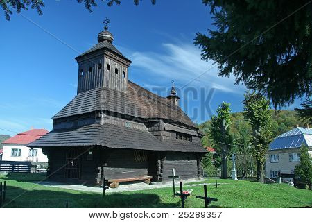 Wooden church in Slovakia