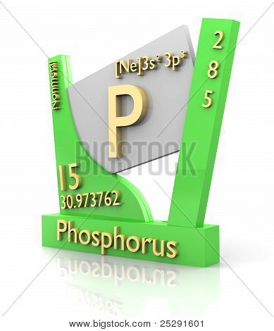 Phosphorus Form Periodic Table Of Elements - V2