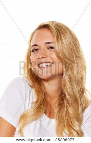 young nice woman