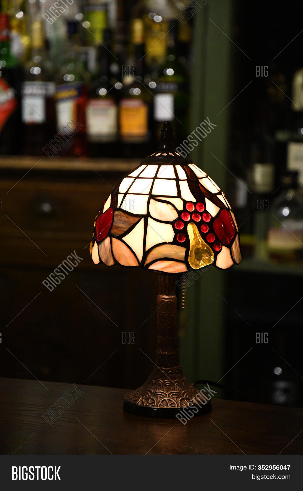 Picture of: Retro Table Lamp Image Photo Free Trial Bigstock