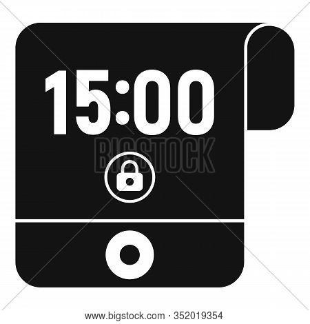 Contemporary Flexible Display Icon. Simple Illustration Of Contemporary Flexible Display Vector Icon