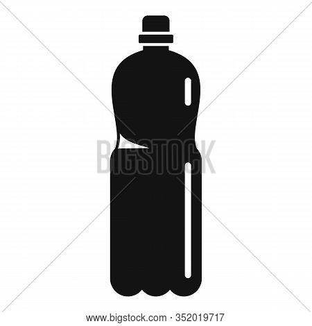 Plastic Carry Bottle Icon. Simple Illustration Of Plastic Carry Bottle Vector Icon For Web Design Is