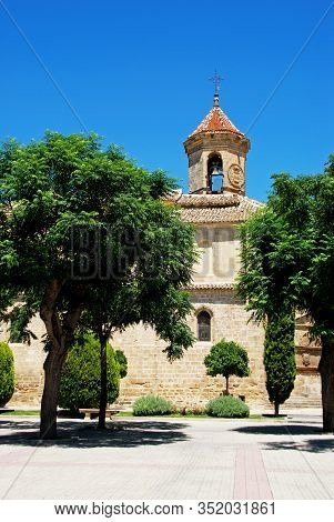 St. Pauls Church (iglesia San Pablo) In The First Of May Square (plaza De 1. De Mayo), Ubeda, Jaen P