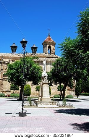 St Pauls Church (iglesia San Pablo) In The First Of May Square (plaza De 1. De Mayo), Ubeda, Jaen Pr