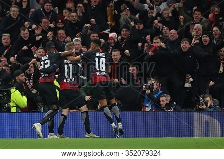 LONDON, ENGLAND. 19 FEBRUARY 2020. Forward Timo Werner Of Leipzig celebrates scoring a goal during the UEFA Champions League match between Tottenham Hotspur and RB Leipzig