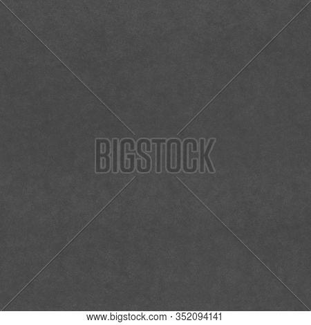 Blank Sheet Of Black Kraft Paper. Seamless Paper Pattern. Dark Grey Kraft Paper Texture