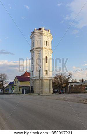 Feodosia, Crimea, Russia-march 10, 2019: