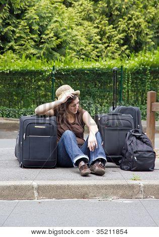 hitchhiker, discouragement