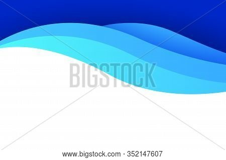 Blue Background Of Gradient Smooth Background Texture On Elegant Rich Luxury Background Web Template