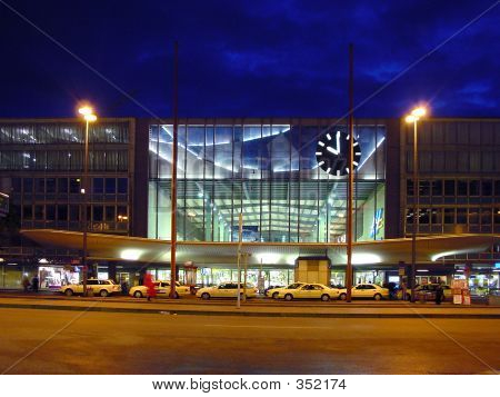 Railway Station. Munich, Germany