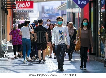 People Wearing Face Mask To Prevent Coronavirus