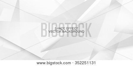 Halftone Minimal Gray Vector Background. Edgy Tile. Halftone Wallpaper. Dynamic Faded Banner. Geomet
