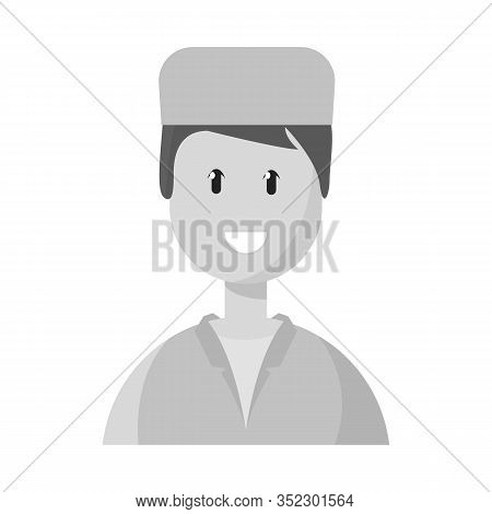Vector Design Of Physician And Portrait Logo. Collection Of Physician And Ambulance Vector Icon For
