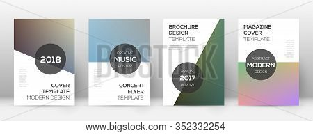 Flyer Layout. Modern Exceptional Template For Brochure, Annual Report, Magazine, Poster, Corporate P