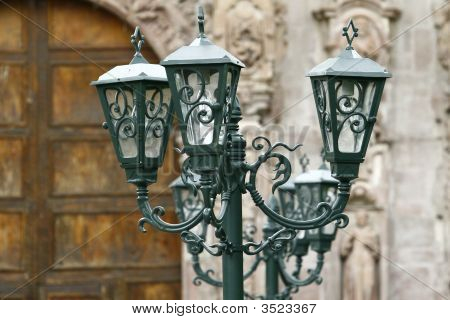 Colonial Style Street Candles, Mexico