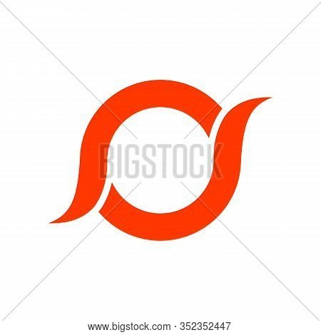 Initial Letter O Logo With Modern Creative Business Typography Vector Template. Creative Abstract Le