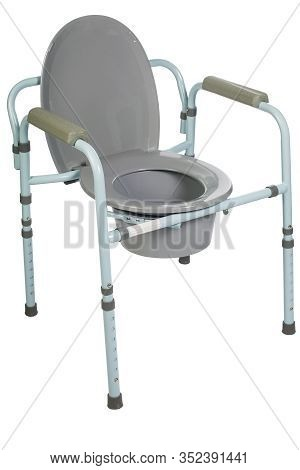 Toilet Chair For Rehabilitation In Postoperative Period, The Elderly, As Well As Patients Who Have D