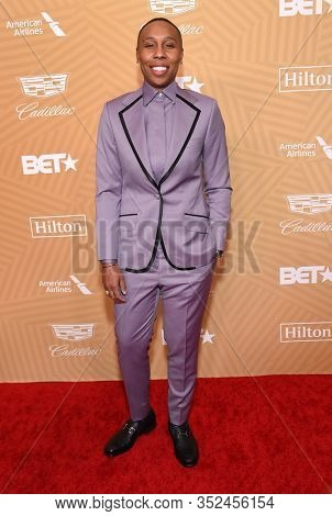 LOS ANGELES - FEB 23:  Lena Waithe arrives for the 2020 American Black Film Festival Honors on February 23, 2020 in Beverly Hills, CA