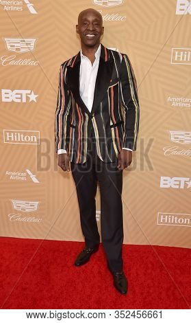 LOS ANGELES - FEB 23:  Rob Morgan arrives for the 2020 American Black Film Festival Honors on February 23, 2020 in Beverly Hills, CA
