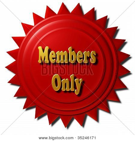 Members Only (red seal)
