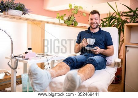 Random Guy Chilling With Coffee