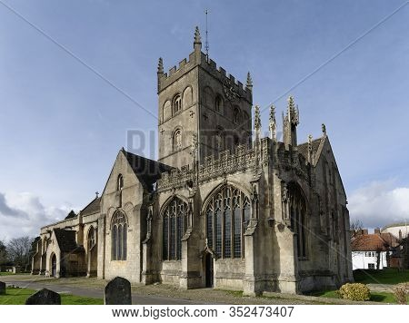 St John The Baptist Church, Devizes, Wiltshire, Uk  Grade I Listed Norman Church